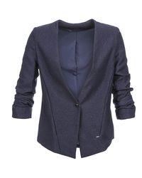 School Rag - Velia Women's Jacket In Blue - Lyst
