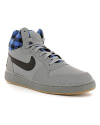 Nike | Gray 844884 Sneakers Man Men's Walking Boots In Grey for Men | Lyst