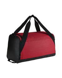 Nike - Red Brasilia Duffel Men's Bag In Multicolour for Men - Lyst