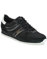 BOSS Orange | Orland Runn Men's Shoes (trainers) In Black for Men | Lyst