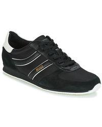 BOSS Orange - Orland Runn Men's Shoes (trainers) In Black for Men - Lyst