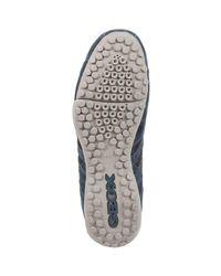 Geox - U7207h 022an Sneakers Man Blue Men's Walking Boots In Blue for Men - Lyst