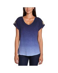 Tommy Hilfiger - - Women's T-shirt Kasha Women's T Shirt In Blue - Lyst