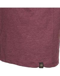 G-Star RAW - Moiric R T S/s Men's T Shirt In Purple for Men - Lyst