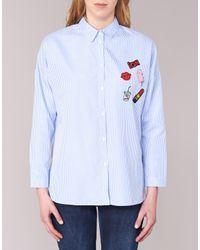Moony Mood - Gar Women's Shirt In Blue - Lyst