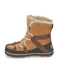 Sorel - Glacy Explorer Shortie Women's Snow Boots In Brown - Lyst