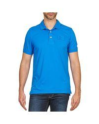 Napapijri - Eseo Men's Polo Shirt In Blue for Men - Lyst