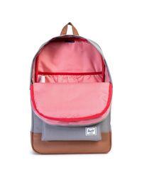 Herschel Supply Co. - Gray Heritage Backpack for Men - Lyst