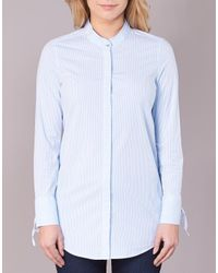 S.oliver - Blue Oupacte Shirt - Lyst