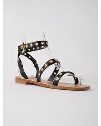Twin Set - Black Sandal - Lyst