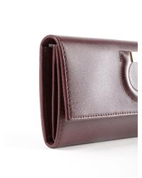 Ferragamo - Multicolor Gancio City Wallet - Lyst