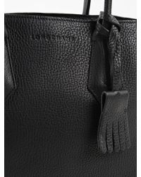 Longchamp - Black Penelope Tote S - Lyst
