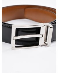 Ferragamo - Black Double Adjustable Belt for Men - Lyst