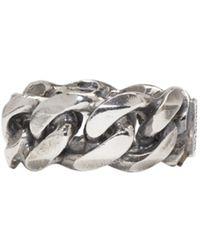 Emanuele Bicocchi | Metallic Silver Chain Ring for Men | Lyst