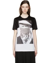 Neil Barrett - Black & White Picasso T-shirt - Lyst