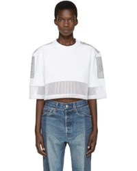 Hood By Air - White Jock Boxes T-shirt - Lyst