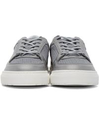 ETQ Amsterdam - Gray Grey Mesh Sneakers for Men - Lyst