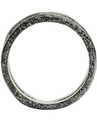 Pearls Before Swine - Metallic Silver Forged Ring Set - Lyst