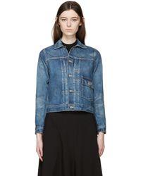 Chimala - Blue Selvedge Denim Jacket - Lyst