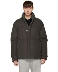 Acne Studios - Green Down Plus Jacket for Men - Lyst