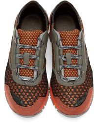Lanvin - Multicolor Paneled Sneakers for Men - Lyst