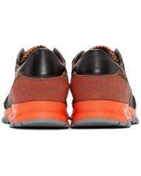 Lanvin - Multicolor Paneled Sneakers for Men - Lyst