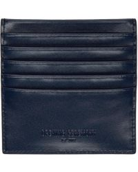 Opening Ceremony - Blue Navy Leather Square Card Holder - Lyst