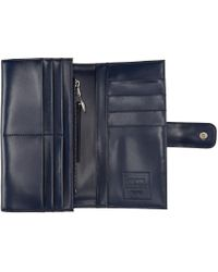 Opening Ceremony - Blue Navy Leather Misha Wallet - Lyst