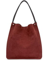 Proenza Schouler - Red Medium Nubuck Leather Tote - Lyst