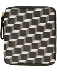 Pierre Hardy - Multicolor Tricolor Perspective Cube Wallet - Lyst