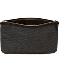 Pierre Hardy - Black Perspective Cube Zip Pouch - Lyst
