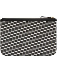 Pierre Hardy - Multicolor Tricolor Perspective Cube Zip Pouch - Lyst