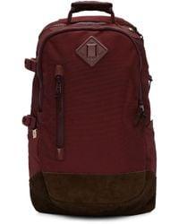 Visvim | Blue Burgundy Ballistic 20l Backpack for Men | Lyst