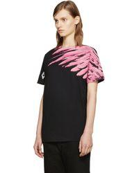 Marcelo Burlon - Ssense Exclusive Black Lonquimay T-shirt - Lyst