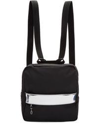 MM6 by Maison Martin Margiela | Black Rubber Backpack | Lyst