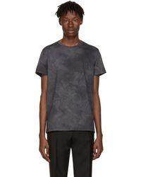 Jil Sander | Gray Grey Flower T-shirt for Men | Lyst