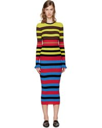 Opening Ceremony - Multicolor Striped Dress - Lyst