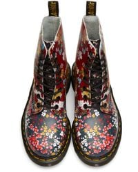 Dr. Martens - Multicolor Floral Mix Pascal Pc Boots - Lyst