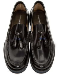 PS by Paul Smith - Black Patent Carver Loafers for Men - Lyst