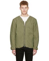 Saturdays NYC   Green Khari Liner Jacket for Men   Lyst