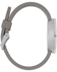 Uniform Wares | Metallic Silver & Grey Polished M37 Watch | Lyst