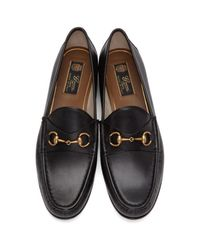 Gucci - Black Frame Loafers - Lyst