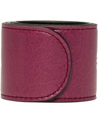 Balenciaga | Pink Cycle Logo Bracelet | Lyst