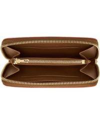 Loewe - Orange Medium Zip Around Wallet - Lyst
