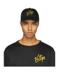 Etudes Studio - Black Orly Vertige Cap for Men - Lyst