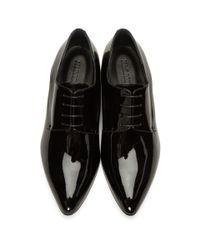 Jil Sander - Black Pointed Toe Derbys for Men - Lyst