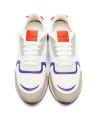 Givenchy - White And Red Star Active Runner Sneakers - Lyst