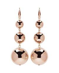 Isabel Marant - Multicolor Rose Gold Harvey Multi Sphere Earrings - Lyst