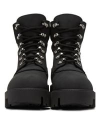 Acne - Black Telde Hiking Boots - Lyst
