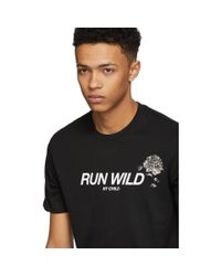 Givenchy - Black Run Wild My Child T-shirt for Men - Lyst